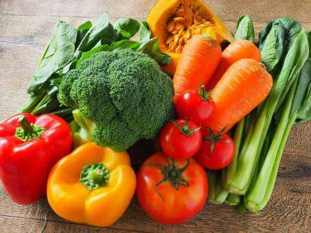 色取り取りの野菜