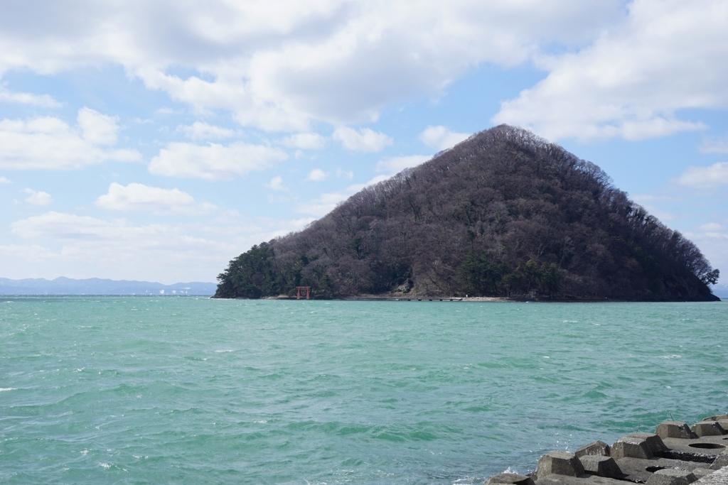 浅虫温泉の海