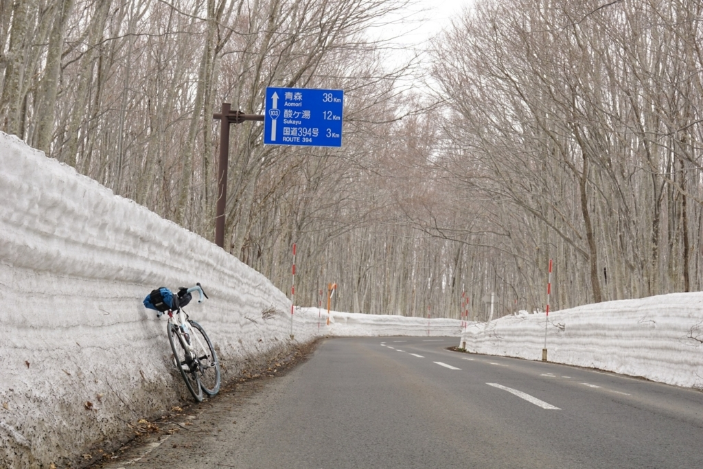 R394分岐まであと3km