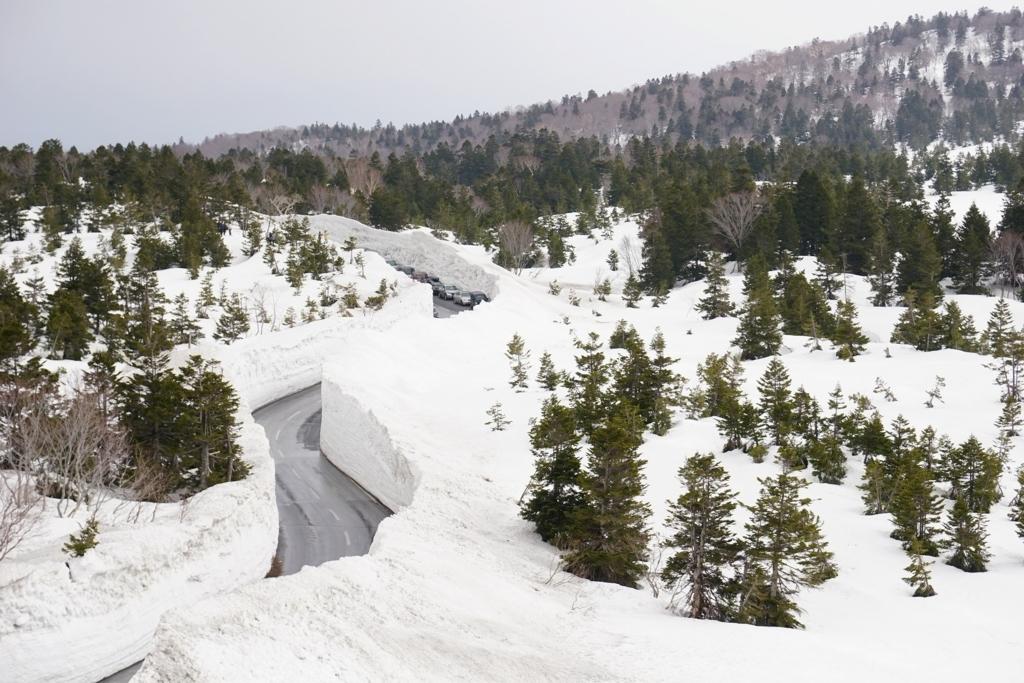 雪壁ワインディングロード