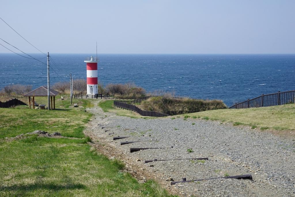 高野崎の紅白灯台