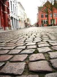 Brugge石畳