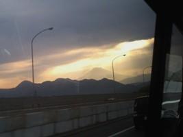 箱根からの神秘的な富士山