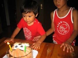 次男の2歳誕生日