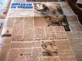 オランダの新聞テレグラーフ