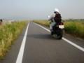 サイクリングロードは歩行者・自転車専用道路です
