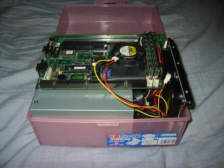 PCA-6154L&ビデオケース