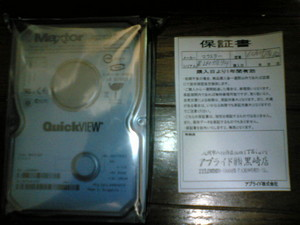 Maxtor QuickVIEW 160GB