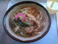 地鶏うどん(by えびのSA)