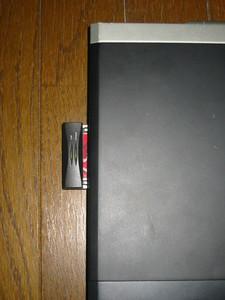 SS3500+無線LANのPCカード