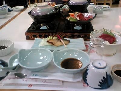 休暇村「吾妻山」の夕食