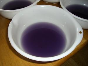 ムラサキキャベツの汁
