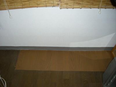 床置きエアコン撤去工事 終了後