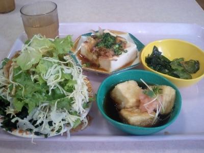 社食でのいつもの昼飯