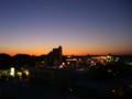 とある日の夕焼け
