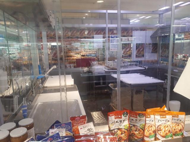 スーパーの鮮魚コーナー
