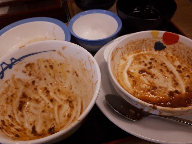 松屋「麻婆豆腐定食」を完食