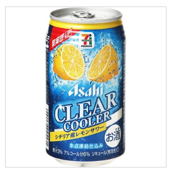 セブンプレミアム「クリアクーラー シチリア産レモンサワー」のイメージ