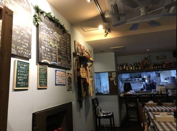 ハワイ料理 ヨーホーズカフェ ラナイの内観