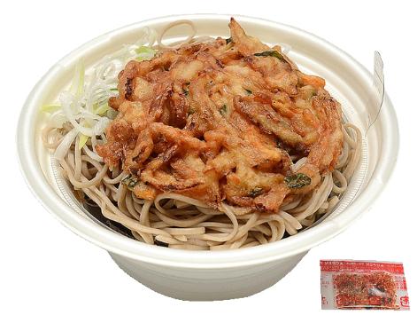 セブン「かき揚げ蕎麦」のイメージ