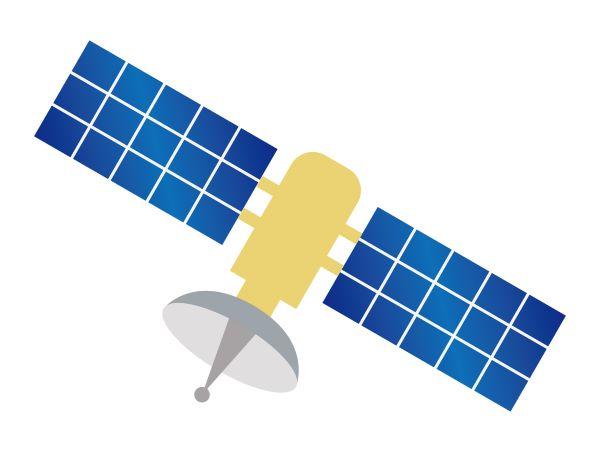 人工衛星のイメージ