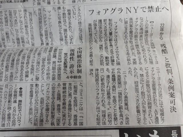 神戸新聞(2019.11.01)