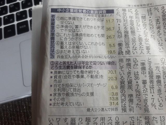 神戸新聞(2019.11.14)