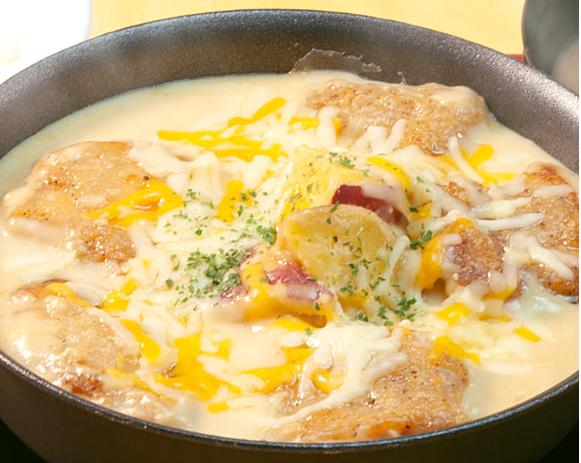 松屋本日発売「シュクメルリ鍋定食」のイメージ