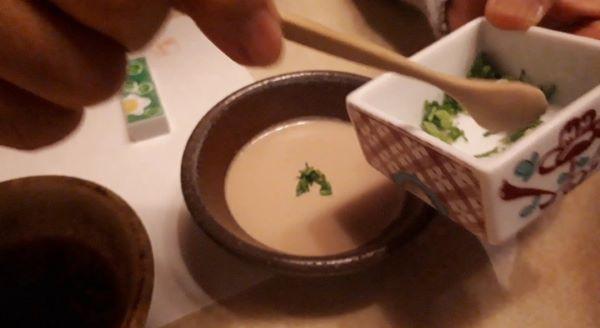 【木曽路 三宮店】しゃぶしゃぶ・飲み放題コースを食べているところ