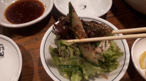 【三宮 焼肉】どんどん三ノ宮店の「どんどんサラダ」
