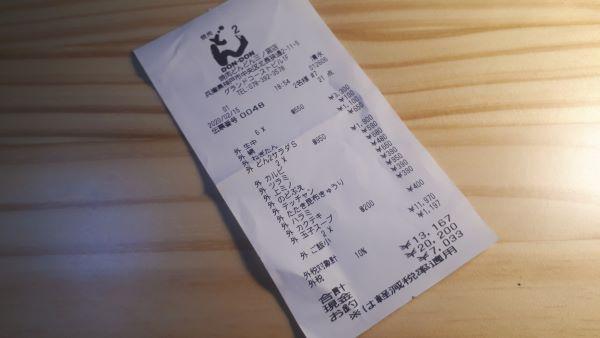 【三宮 焼肉】どんどん三ノ宮店での食事風景