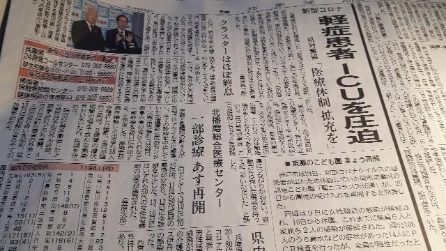 神戸新聞(2020.03.25)より