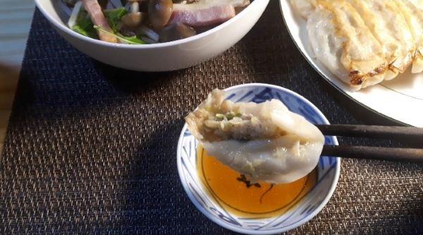 餃子の王将2020年4月限定「あんかけチャンポン」を食べる(オリジナル写真)