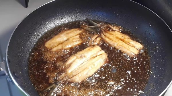 イワシ蒲焼丼のつくり方(オリジナル写真)