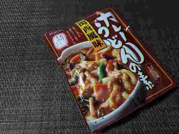 【業務スーパー】Hachi(ハチ食品)「関西風味 カレーうどんの素」の外見(オリジナル写真)