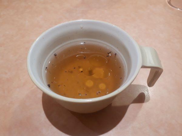 サイゼリヤランチのスープ(オリジナル写真)