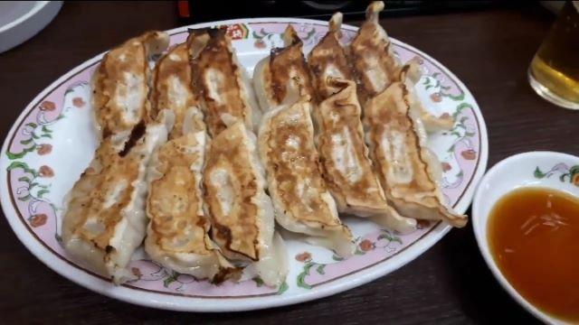 餃子の王将の餃子(オリジナル写真)