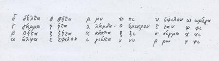 カリメラ ギリシャ 語