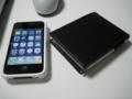 iPhone と ロディア No.11イタリアンレザーカバー