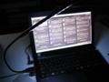 グリーンハウス USB 10LEDライト フレキシブルタイプ ブラック GH-LED10FLK