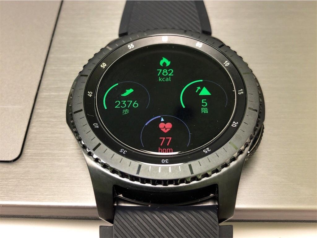 Samsung gear s3 の画像