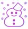 IPA(ピンク) とリュウミン(水色)の雪マーク比較