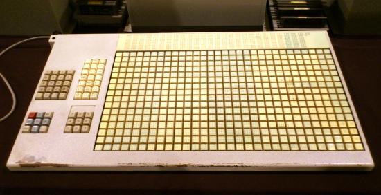 モリサワの電算写植機のキーボード