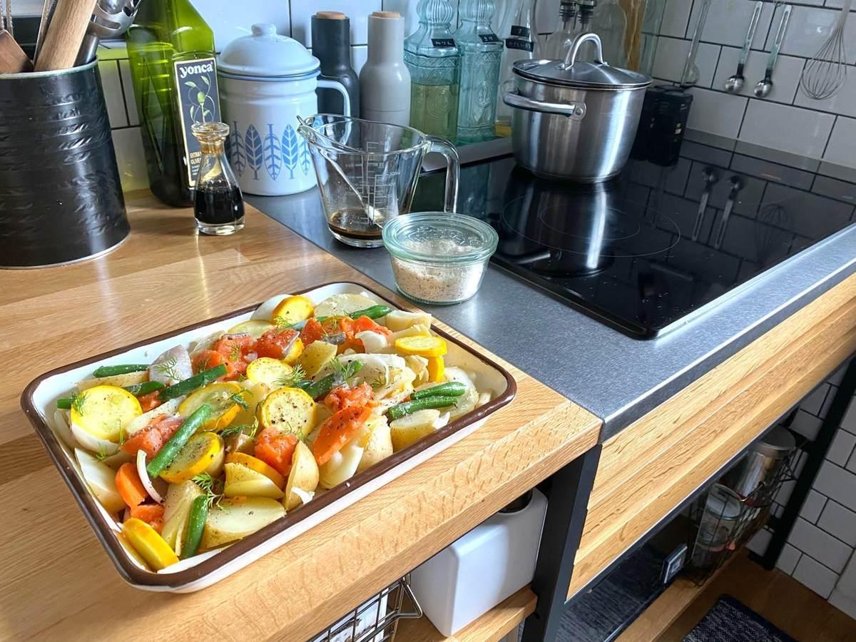 薄味レシピでもハーブの活用で満足感アップ。家庭菜園のディルが大活躍