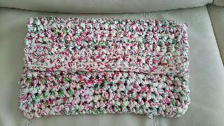 ダイソーTシャツヤーン編み物ブログ