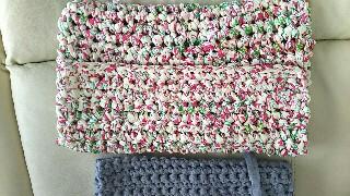 ダイソーTシャツヤーン編み物ブログ2