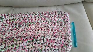 ダイソーTシャツヤーン編み物ブログ3