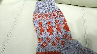 フェリシモクチュリエ靴下キット編み物ブログ2