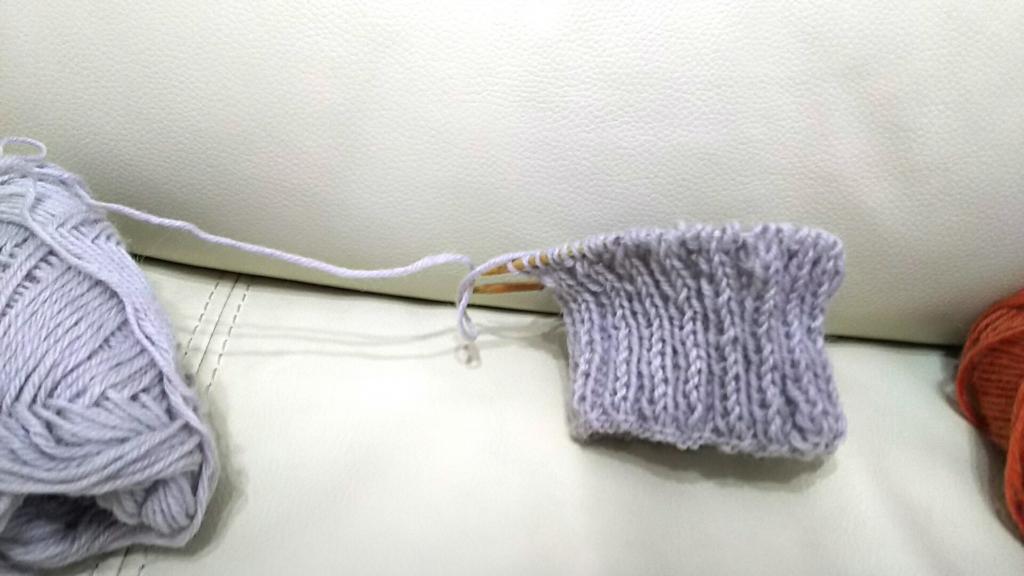 フェリシモクチュリエ靴下キット編み物ブログ3