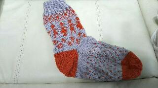 フェリシモクチュリエ靴下キット編み物ブログ